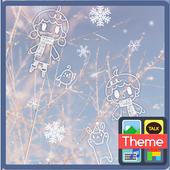 Winter 카카오톡 테마 icon