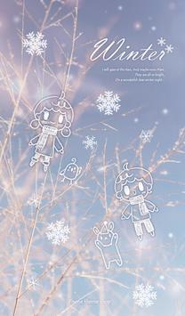 Winter 카카오톡 테마 poster
