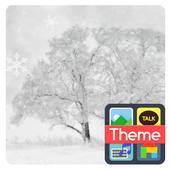 white winter k icon