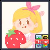lena_sweet strawberry K icon