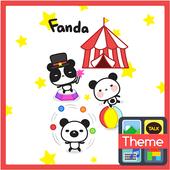 fanda(서커스) 카톡 테마 icon