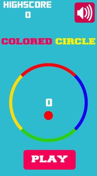 Colored Circle poster