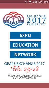 GEAPS Exchange 2017 poster