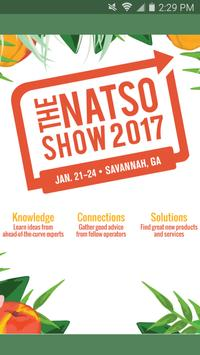 The NATSO Show 2017 poster