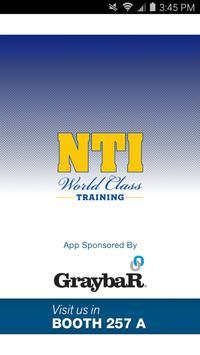 NTI 2016 poster