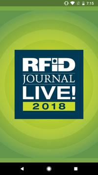 RFID Journal LIVE! 2018 poster