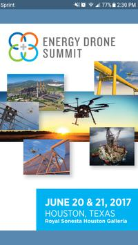 Energy Drone Summit poster