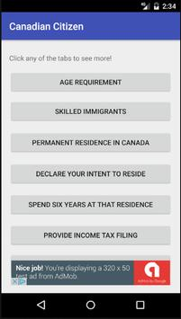 Become a Canadian Citizen 2.0 poster