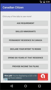 Become a Canadian Citizen 2.0 screenshot 1