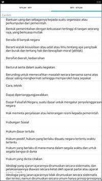 Kamus PKn apk screenshot
