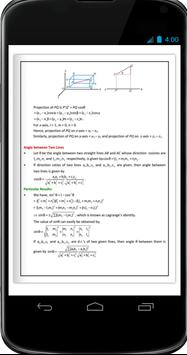 3 D Geometry Formula Ebook screenshot 2