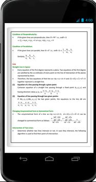 3 D Geometry Formula Ebook screenshot 3