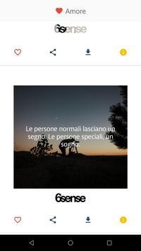 6Sense Frasi e Consigli screenshot 2