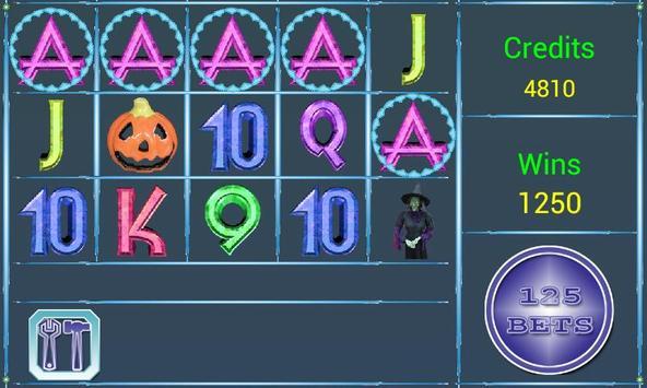 A8  Halloween Slot Machine screenshot 1