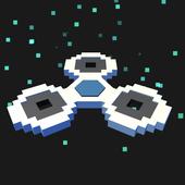 8-bit pixel Spinner icon