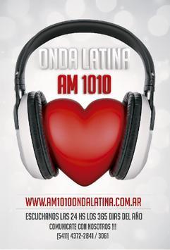 AM 1010 Onda Latina screenshot 1