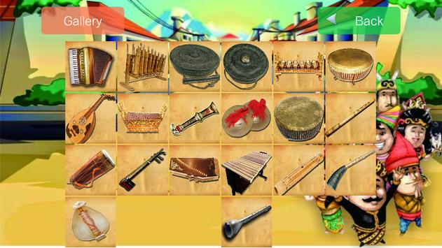Game Puzzle Alat Musik Tradisional poster