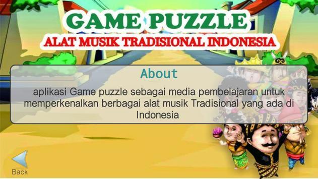 Game Puzzle Alat Musik Tradisional screenshot 3