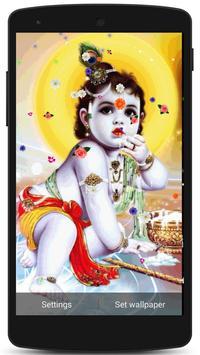 Lord Krishna Live HD Wallpaper screenshot 1