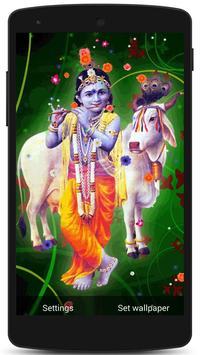 Lord Krishna Live HD Wallpaper screenshot 6