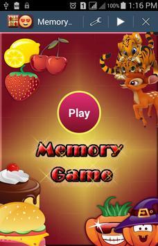 Memory Game- لعبة الذاكرة poster