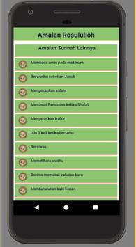 Amalan Rosululloh screenshot 2