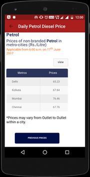 Daily Petrol Diesel Price(Official) apk screenshot