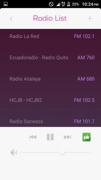 All Radio Ecuador FM in One HD screenshot 2