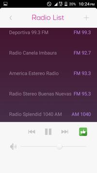 All Radio Ecuador FM in One HD screenshot 4