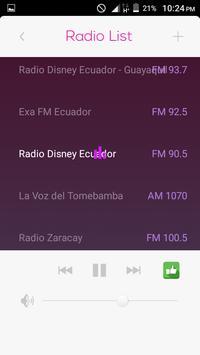 All Radio Ecuador FM in One HD poster