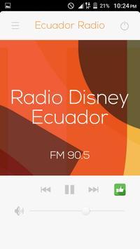 All Radio Ecuador FM in One HD apk screenshot