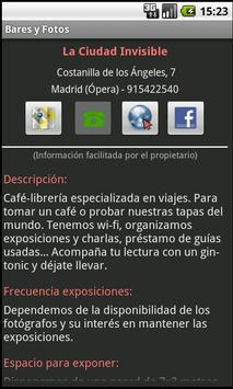 Bares y Fotos screenshot 2