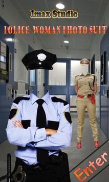Police Woman Photo Suit poster