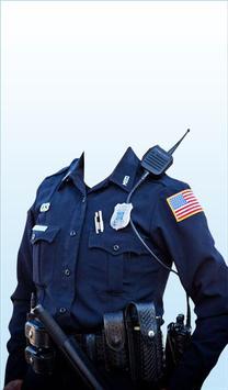Police Woman Photo Suit apk screenshot