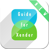 New Xender Guide icon