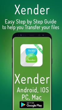 New Xender Guide poster