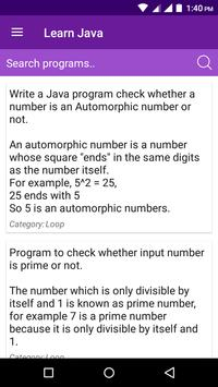 Learn ICSE Java - Read, Practice and Score screenshot 3