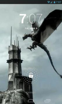 Amazing Dragon Live Wallpaper poster