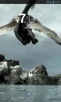 Amazing Dragon Live Wallpaper apk screenshot