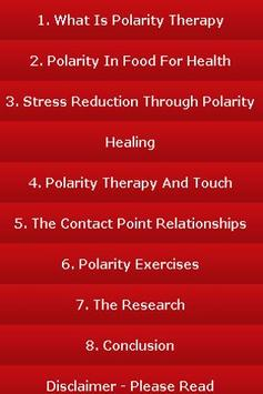 Amazing Polarity Therapy Guide screenshot 1