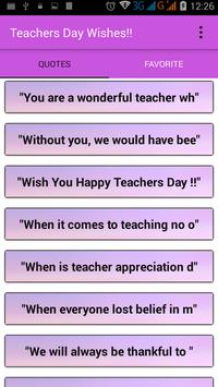 Teacher's Day Wishes screenshot 1