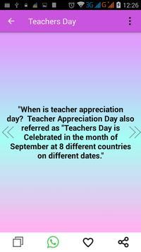 Teacher's Day Wishes screenshot 2