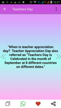 Teacher's Day Wishes screenshot 4