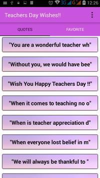 Teacher's Day Wishes screenshot 9