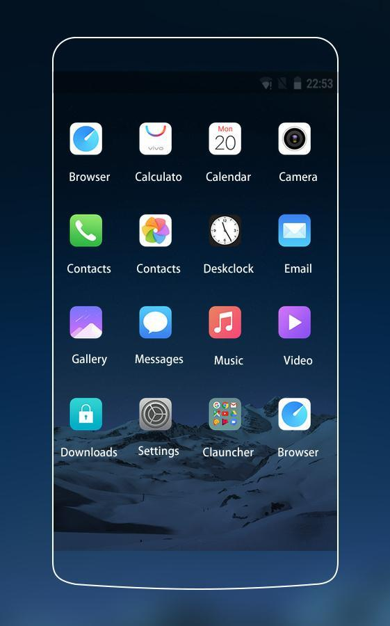 Apk Theme for Vivo Y53 HD