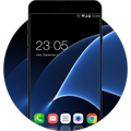 Neat Gentlemen Launcher Theme for Galaxy A5