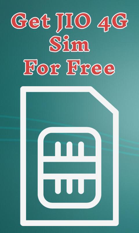 how to get jio sim