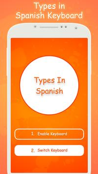 Type In Spanish Keyboard poster