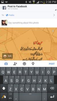 Parveen Shakir apk screenshot
