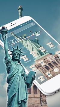 Statue Of Liberty Theme poster